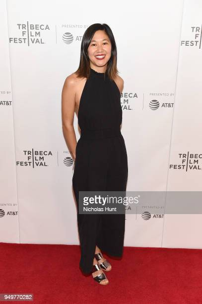 Stephanie WangBreal attends a screening of Blowin' Up during the 2018 Tribeca Film Festival at Cinepolis Chelsea on April 21 2018 in New York City