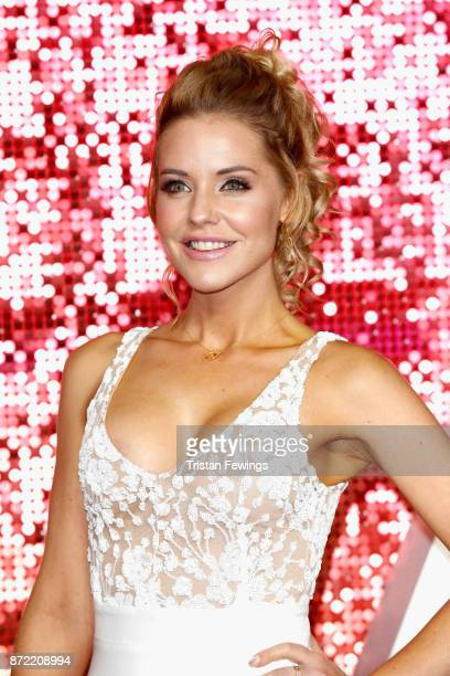 Stephanie Waring arriving at the ITV Gala held at the London Palladium on November 9 2017 in London England