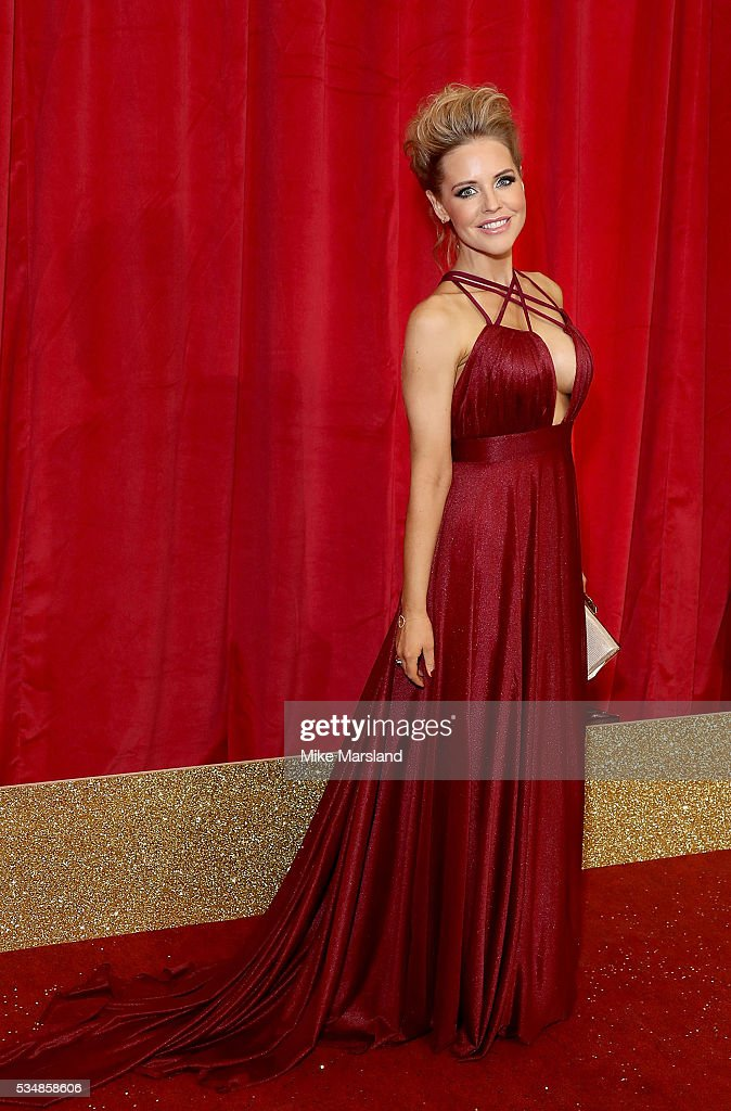 Stephanie Waring attends the British Soap Awards 2016 at Hackney Empire on May 28, 2016 in London, England.