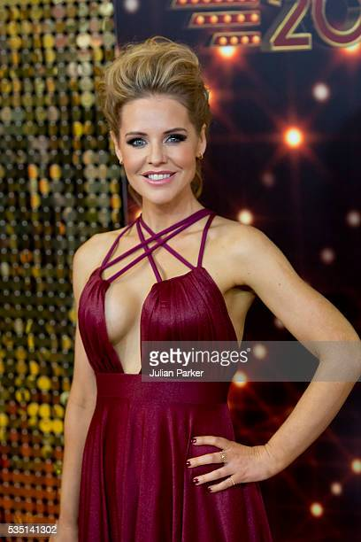 Stephanie Waring attends the British Soap Awards 2016 at Hackney Empire on May 28 2016 in London England