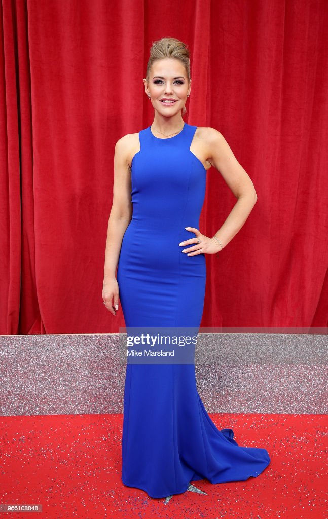 Stephanie Waring attends the British Soap Awards 2018 at Hackney Empire on June 2, 2018 in London, England.