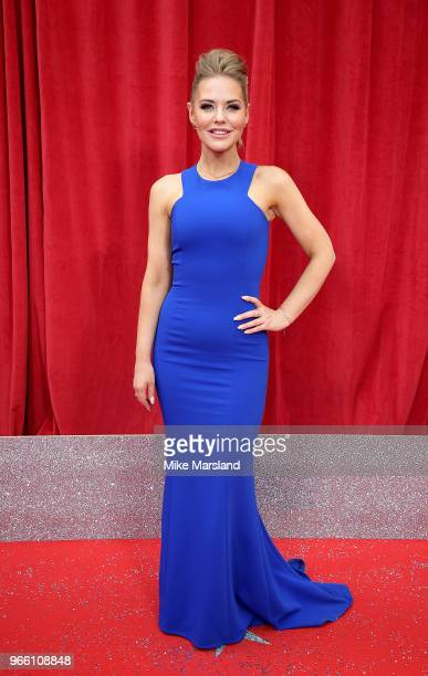 Stephanie Waring attends the British Soap Awards 2018 at Hackney Empire on June 2 2018 in London England