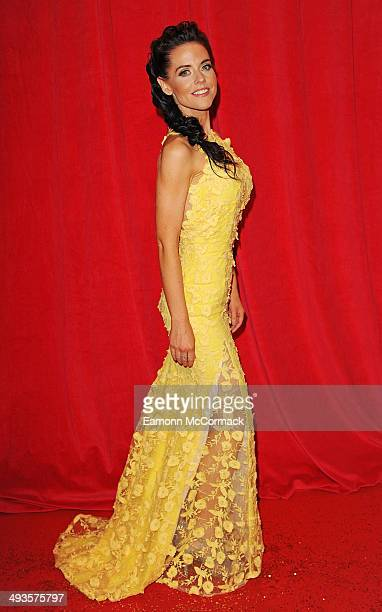 Stephanie Waring attends the British Soap Awards at Hackney Empire on May 24 2014 in London England