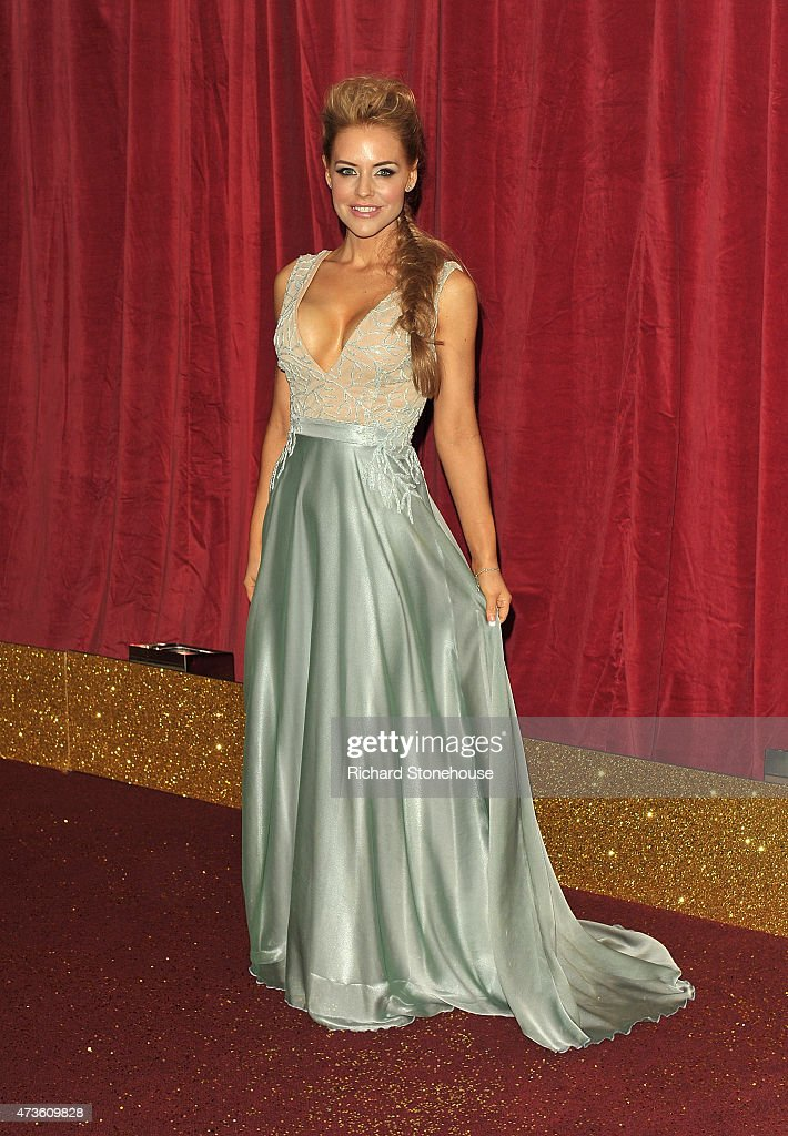 Stephanie Waring attends the British Soap Awards at Manchester Palace Theatre on May 16, 2015 in Manchester, England.