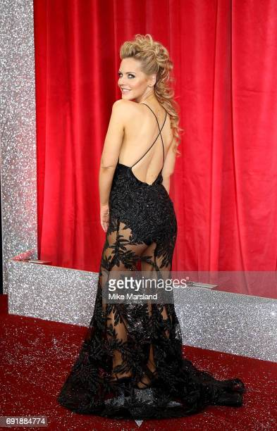 Stephanie Waring attends The British Soap Awards at The Lowry Theatre on June 3 2017 in Manchester England The Soap Awards will be aired on June 6 on...