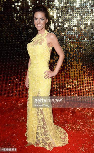 Stephanie Waring attends the British Soap Awards held at the Hackney Empire on May 24 2014 in London England