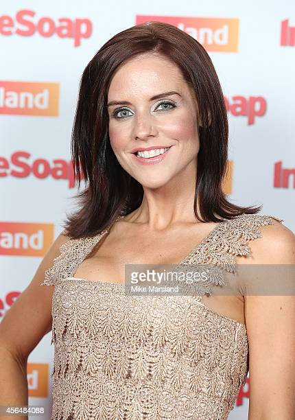 Stephanie Waring attends the Inside Soap Awards at Dstrkt on October 1 2014 in London England