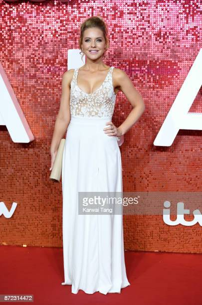 Stephanie Waring attends the ITV Gala at the London Palladium on November 9 2017 in London England