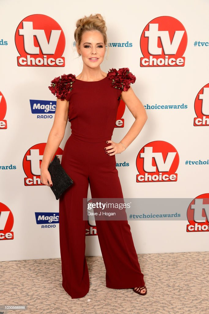 TV Choice Awards - VIP Arrivals : News Photo