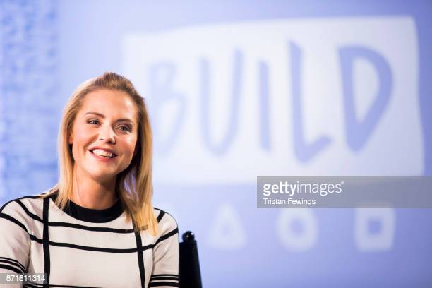 Stephanie Waring is announced as the next Dancing On Ice contestant live on BUILD London on November 8 2017 in London England