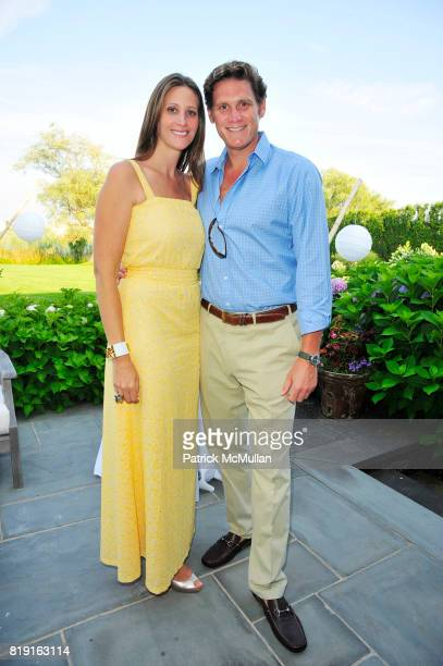 Stephanie Winston Wolkoff and David Wolkoff attend Summer Reception in Southampton for New YorkPresbyterian Hospital hosted by Heather and Steven...