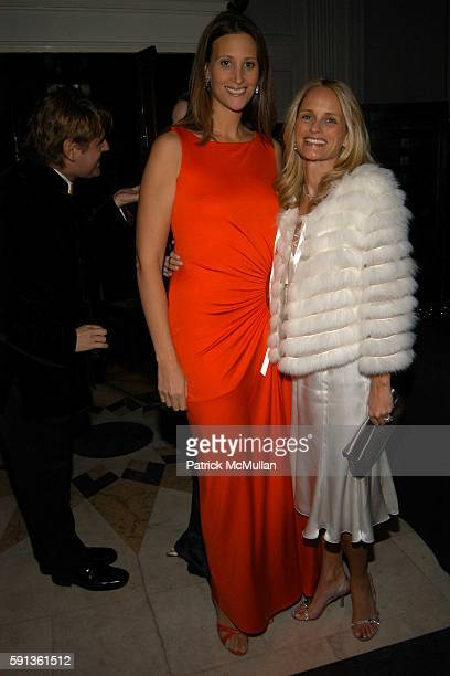 Stephanie Winston Wolkoff and Heather Mnuchin attend The Directors Council of The Museum of The City of New York Winter Ball Sponsored By Yves Saint...