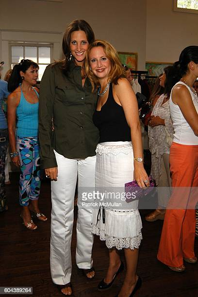 Stephanie Winston Wolkoff and Nina Davidson attend DOLCE GABBANA Benefit Luncheon hosted by Jessica Seinfeld Claude Wasserstein and Stephanie Winston...