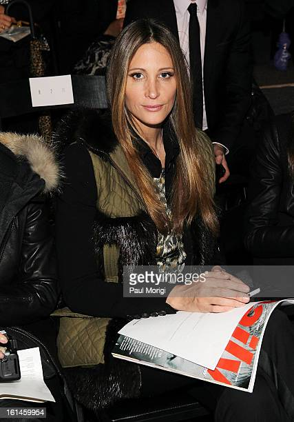 Stephanie Winston Wolkoff attends ICB By Prabal Gurung during Fall 2013 Mercedes-Benz Fashion Week at The Studio at Lincoln Center on February 11,...