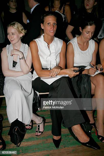 Stephanie Winston Wolkoff attends PROENZA SCHOULER Spring 2009 Fashion Show at The Armory on September 8 2008 in New York City