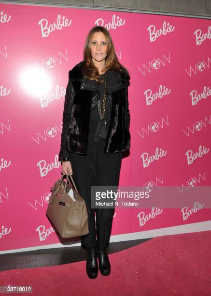 Stephanie Winston Wolkoff attends The Barbie Dream Closet at David Rubenstein Atrium on February 10 2012 in New York City