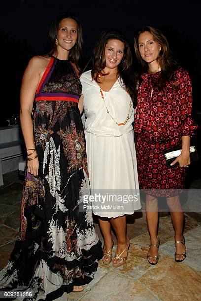 Stephanie Winston Wolkoff Charlotte Blechman and Cristina Greeven Cuomo attend GUCCI Cristina Chris Cuomo and Stephanie and David Wolkoff's Midsummer...