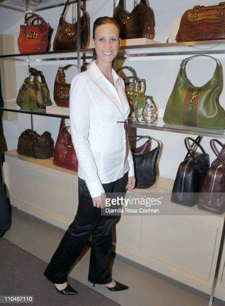 Stephanie Winston Wolkoff during Gucci Celebrates The Opening of The New East Hampton Store June 3 2006 at Gucci Store in East Hampton New York...