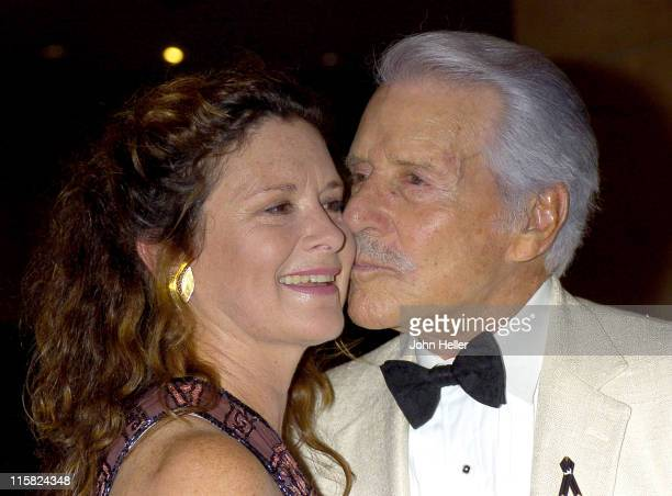 Stephanie Zimbalist and Efrem Zimbalist Jr during City of Hope Annual Convention Closing Night at Beverly Hilton Hotel in Beverly Hills California...