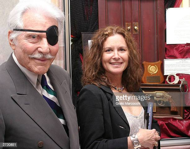 Stephanie Zimbalist Jr and Efrem Zimbalist Jr attend My Dinner of Herbs event at The Hollywood History Museum on November 11 2003 in Hollywood...
