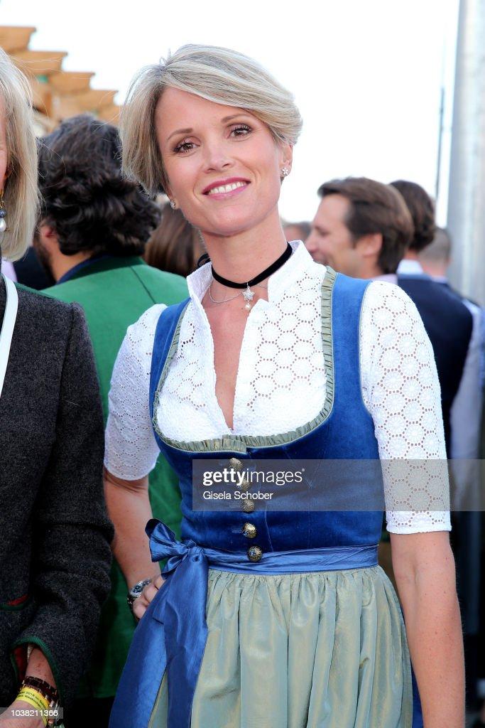 Stephanie zu Guttenberg during the Oktoberfest 2018