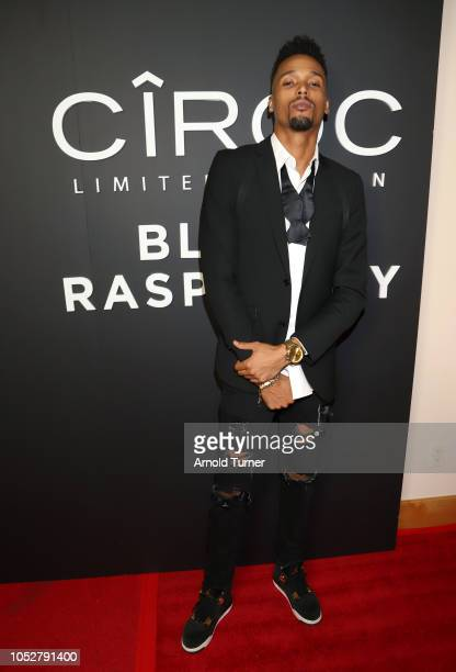 Stephano Serrano attends the ZEUS New Series Premiere Party X CIROC Black Raspberry on October 19 2018 in Burbank California