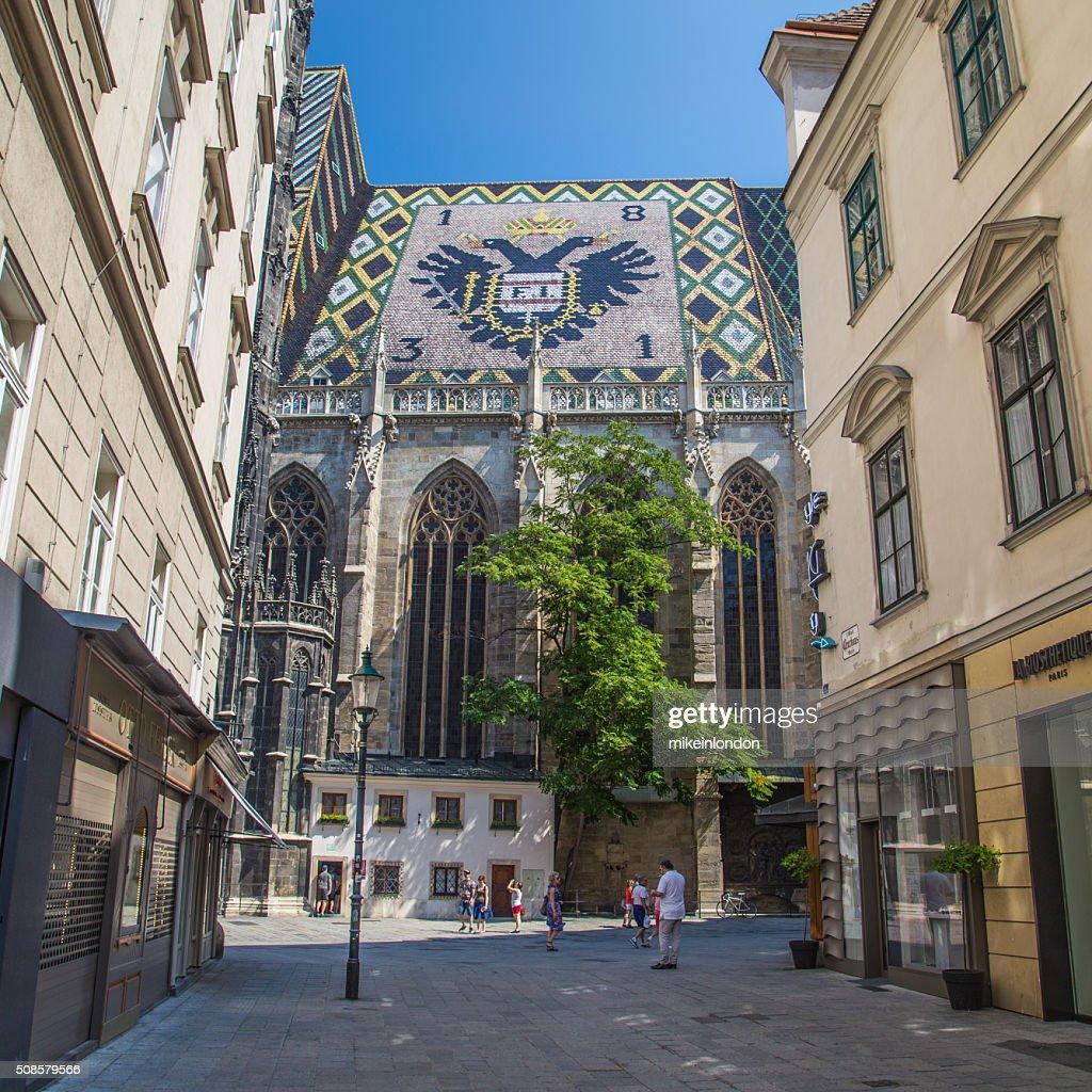 Stephansdom in Vienna : Stockfoto