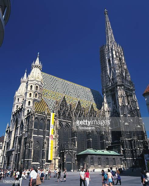 Stephansdom, Wien, Austria, Europe, Low Angle View, Pan Focus