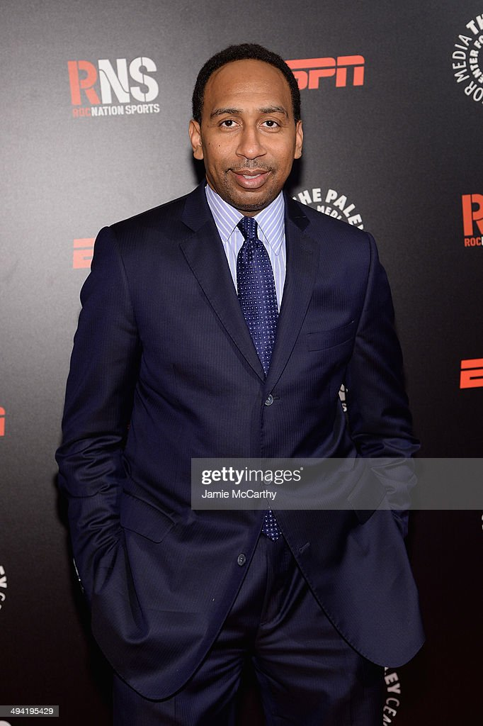 Stephen A. Smith attends the Paley Prize Gala honoring ESPN's 35th anniversary presented by Roc Nation Sports on May 28, 2014 in New York City.
