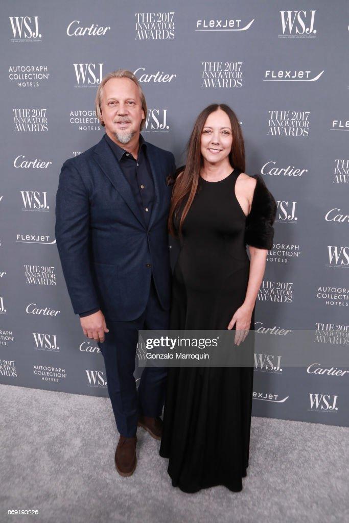 WSJ Magazine 2017 Innovator Awards - Arrivals : News Photo