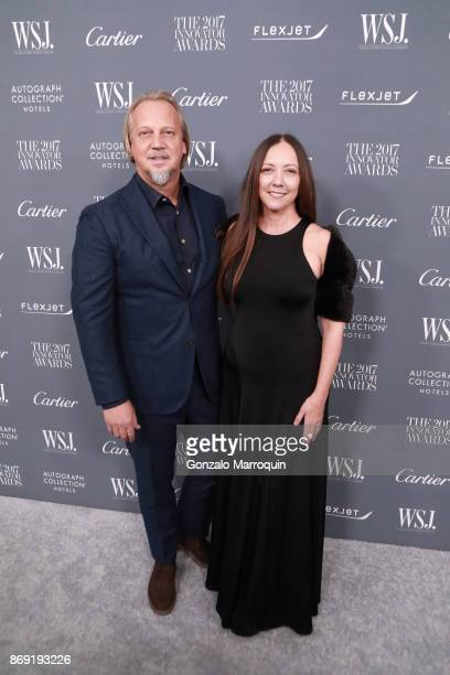 Stephen Alesch and Robin Standefer during the WSJ Magazine 2017 Innovator Awards at Museum of Modern Art on November 1 2017 in New York City