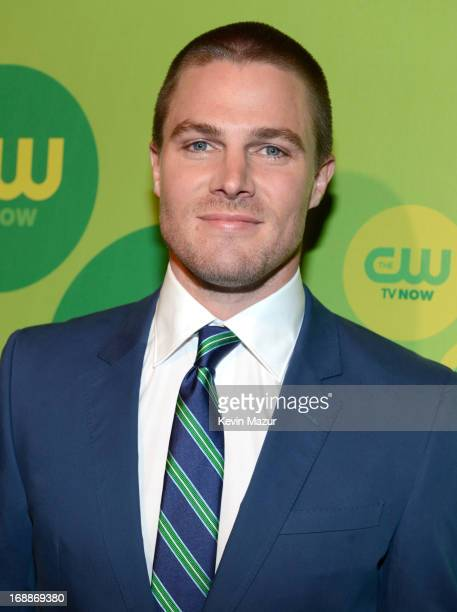 Stephen Amell attends the CW Network's 2013 Upfront at The London Hotel on May 16 2013 in New York City