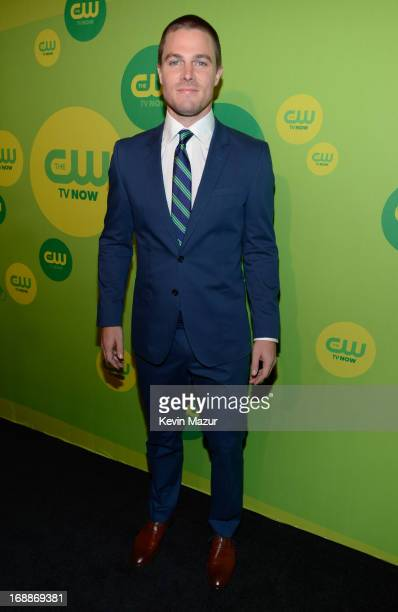 Stephen Amell attends the CW Network's 2013 Upfront at The London Hotel on May 16, 2013 in New York City.
