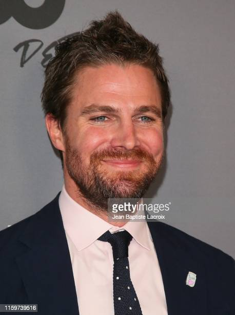 Stephen Amell attends The CW's Summer 2019 TCA Party sponsored by Branded Entertainment Network at The Beverly Hilton Hotel on August 04 2019 in...