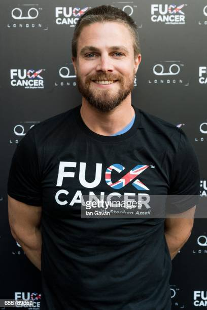 Stephen Amell attends the 'Fuck Cancer' event at TAPE on May 26 2017 in London England