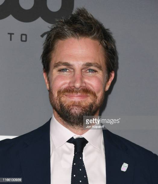 Stephen Amell attends the The CW's Summer 2019 TCA Party sponsored by Branded Entertainment Network at The Beverly Hilton Hotel on August 04 2019 in...