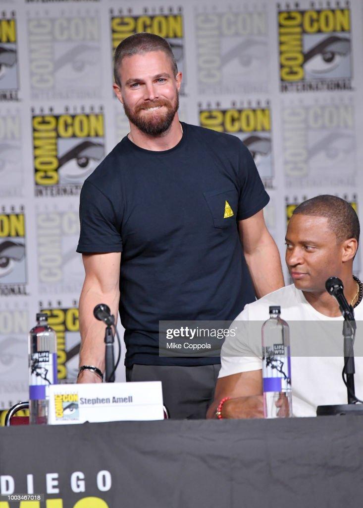 "Comic-Con International 2018 - ""Arrow"" Special Video Presentation And Q&A"