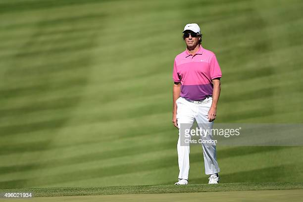 Stephen Ames of Canada walks to the first green during the second round of the Champions Tour Charles Schwab Cup Championship at Desert Mountain Club...