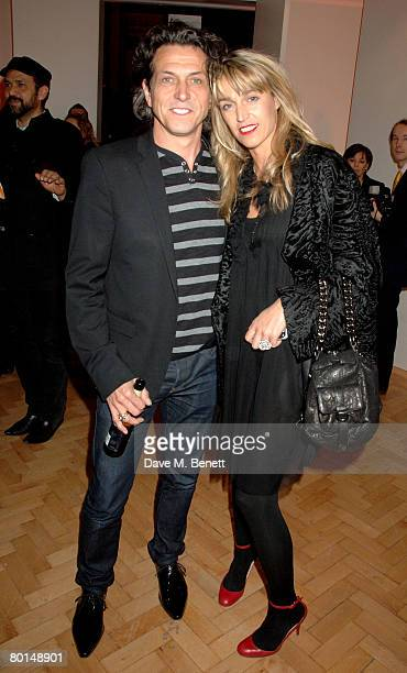 Stephen and Anastasia Webster attend the TOD's Art Plus Film Party, at 1 Marylebone Road on March 6, 2008 in London, England.