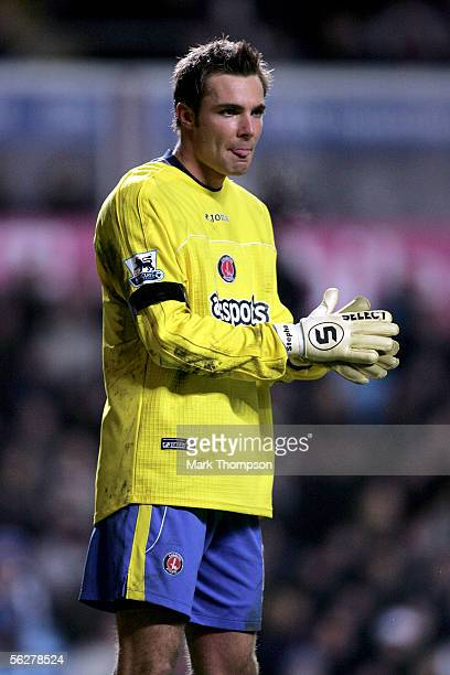 Stephen Andersen of Charlton Athletic during the Barclays Premiership match between Aston Villa and Charlton Athletic on November 26 2005 at Villa...