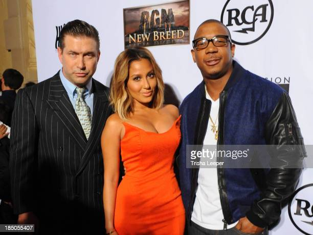 Stephen Baldwin Adrienne Bailon and Ja Rule attend the 'I'm In Love With A Church Girl' premiere at California Theatre on October 15 2013 in San Jose...