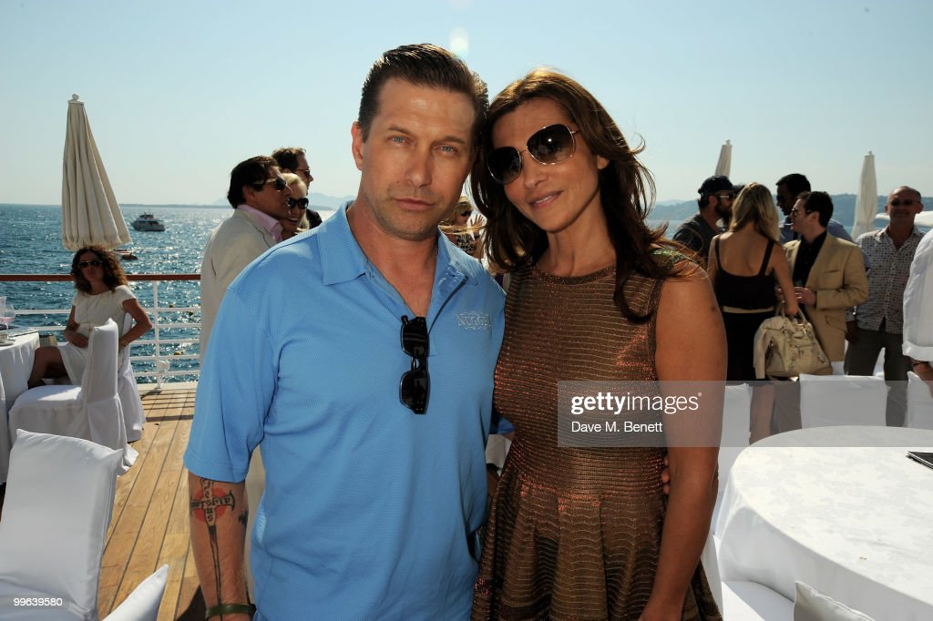 Stephen Baldwin and Ella Krasner attend the David Morris Amend Charity Luncheon at the Hotel du Cap as part of the 63rd Cannes Film Festival on May 17, 2010 in Antibes, France.