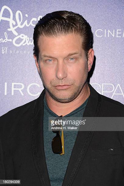 Stephen Baldwin attends The Cinema Society with Circa and Alice Olivia screening of Sparkle at Tribeca Grand Hotel on August 14 2012 in New York City