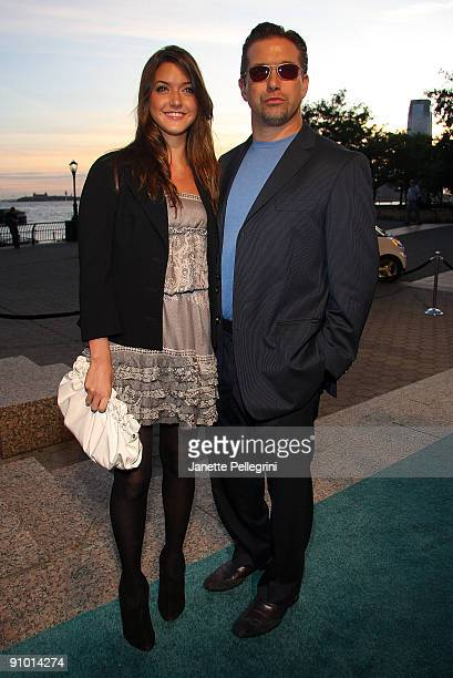 Stephen Baldwin with daughter Alaia Baldwin attends the premiere of 'The Age Of Stupid' at the World Financial Center Winter Garden on September 21...