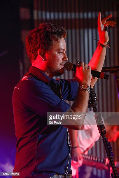 Stephen Barker Liles of Love and Theft performs at Pandora presents Love and Theft at StubHub's Next Stage Series at Cannery Ballroom on June 17 2014...