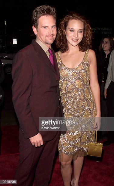 Stephen Barker Turner and Erica Leerhsen at the premiere of 'Book Of Shadows Blair Witch 2' at the Chinese Theater in Los Angeles Ca 10/13/00 Photo...