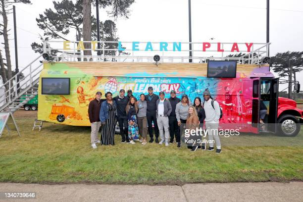 Stephen Baruch, Tiffany Williams, President and CEO at Eat. Learn. Play. Foundation Christopher Helfrich, VP, Marketing & Communications at Eat....