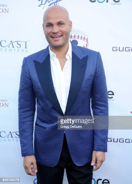 Stephen Belafonte arrives at the annual Brent Shapiro Foundation For Alcohol and Drug Prevention Summer Spectacular at a Private Residence on...