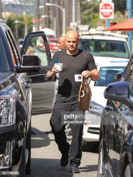 Stephen Belafonte is seen on March 03 2017 in Los Angeles California