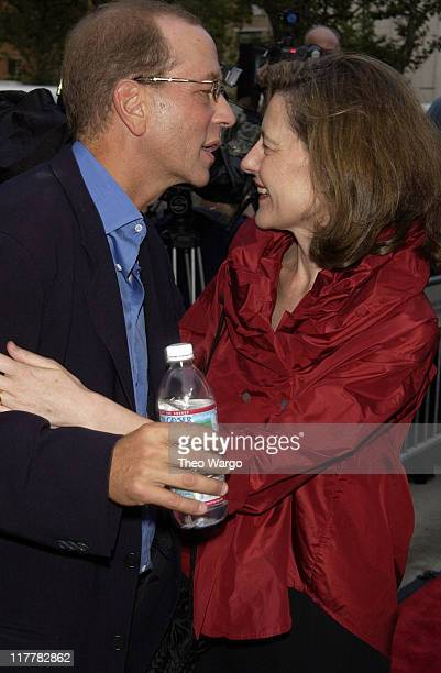 Stephen Bogart and Ingrid Rossellini during Casablanca 60th Anniversary Celebration Screening at Alice Tully Hall Lincoln Center in New York City New...